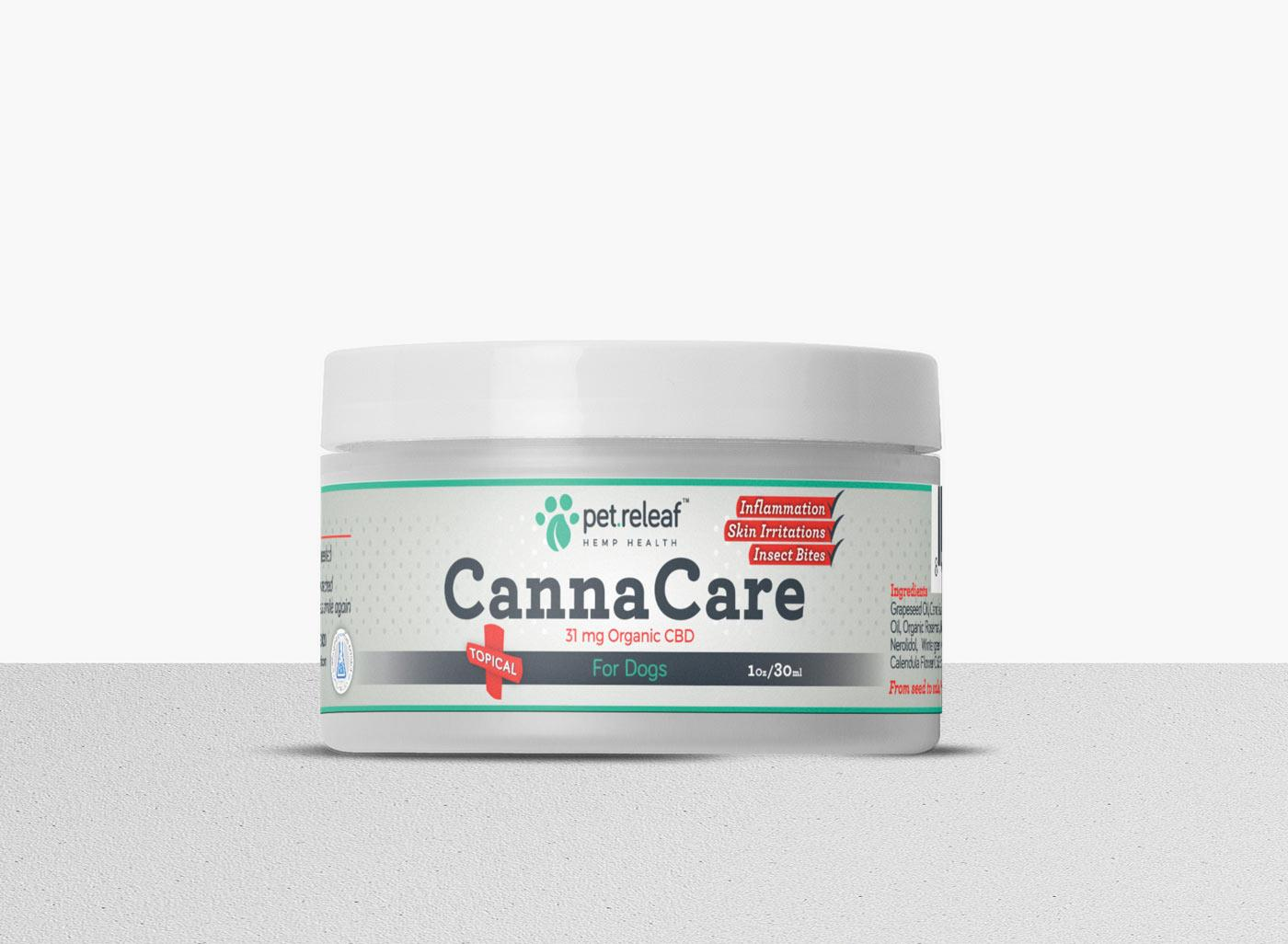 CBD Hemp Oil Canna Care Topical 1 oz