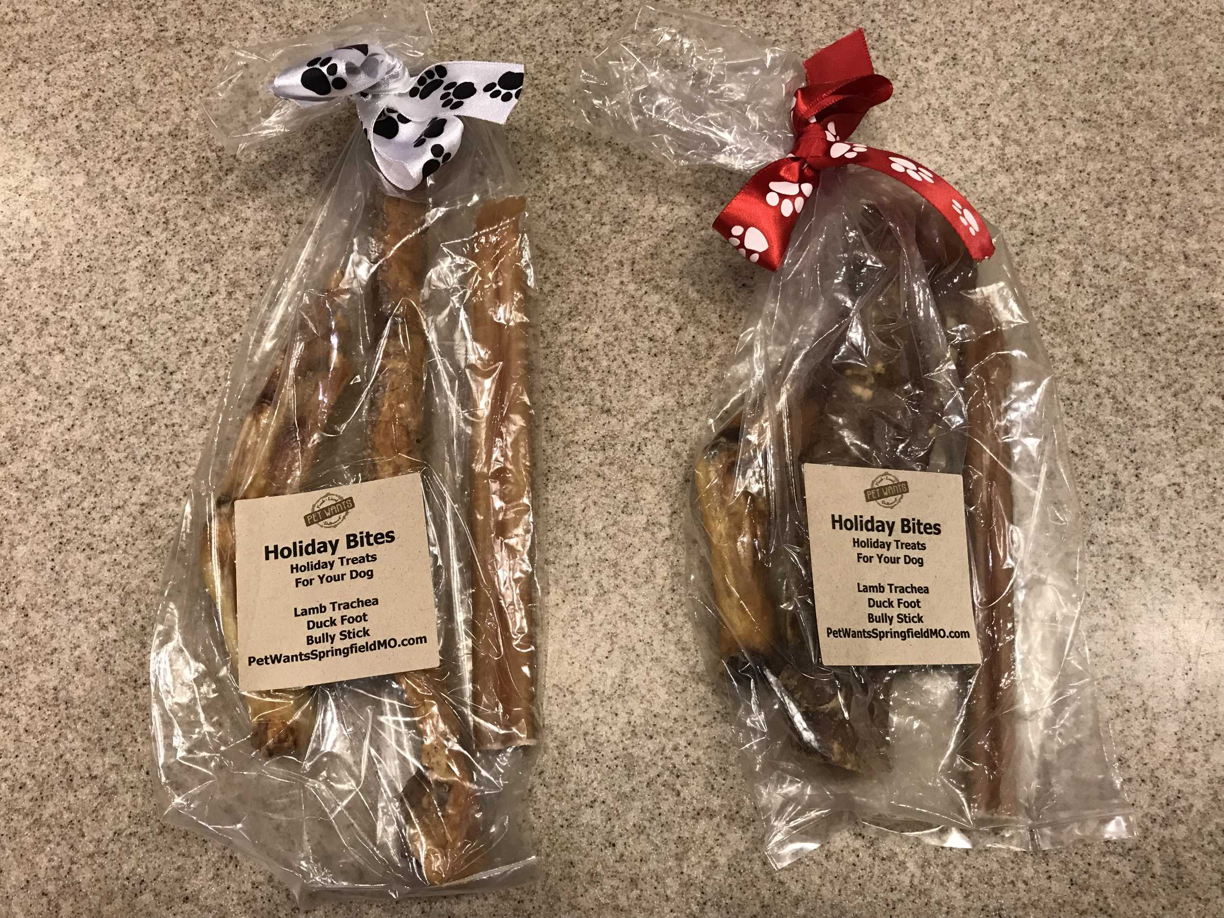 Howliday Treat Bag for Dogs