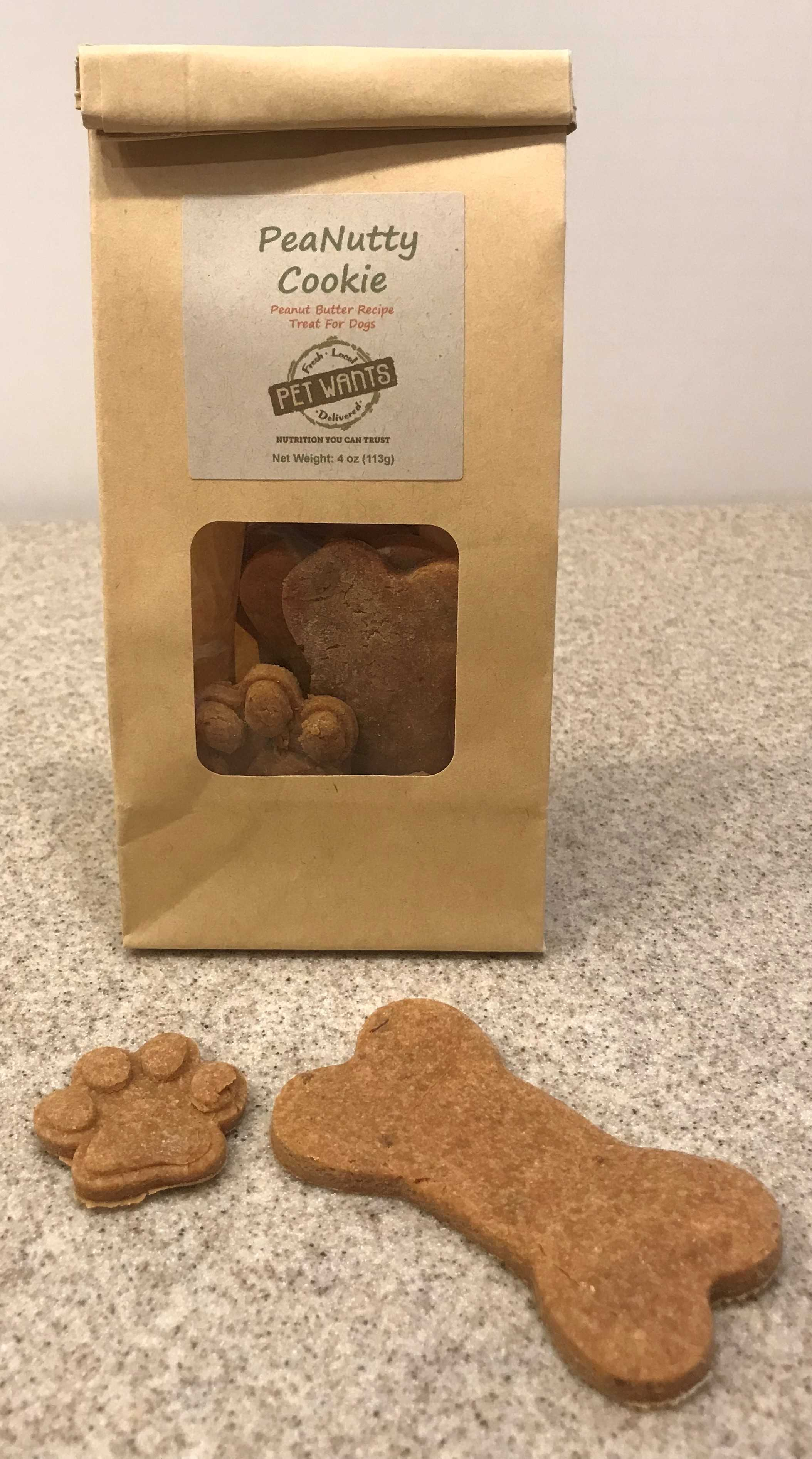 PeaNutty Cookies - 4 oz