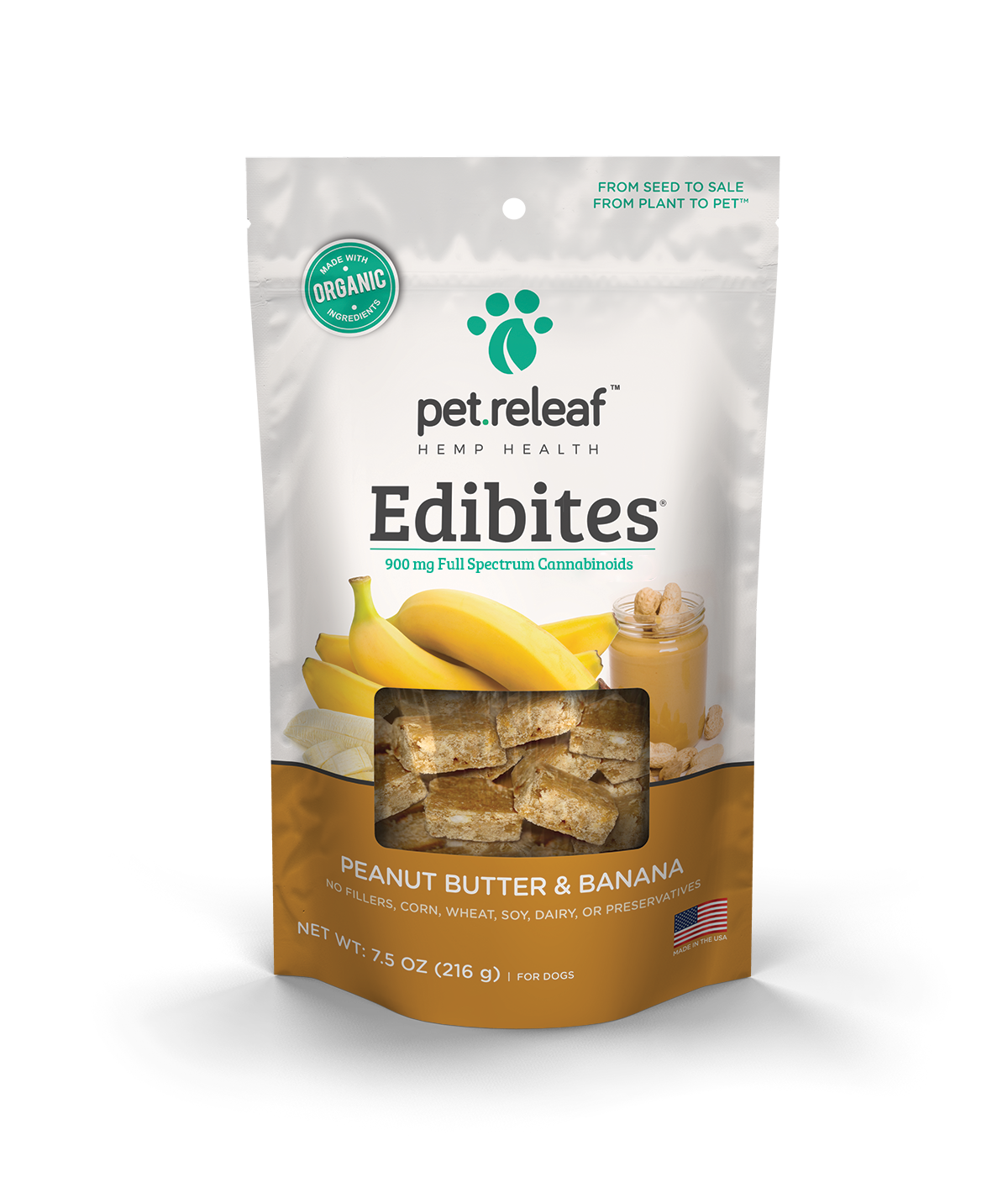 CBD Hemp Oil Edibites - Peanut Butter Banana